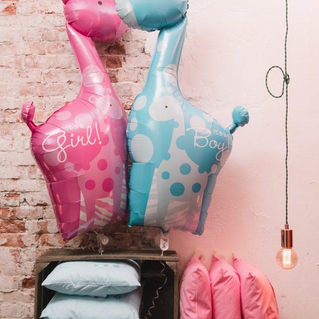 Supershape Ballonnen geboorte