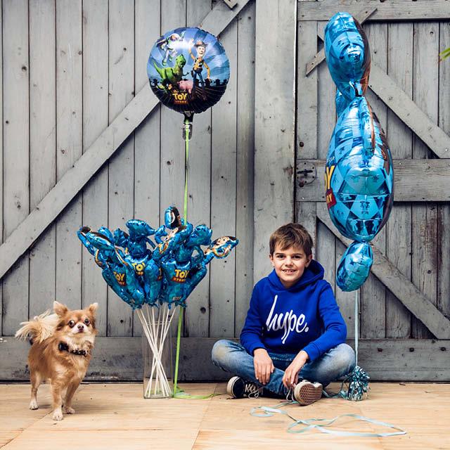Opgeblazen Mini Ballonnen