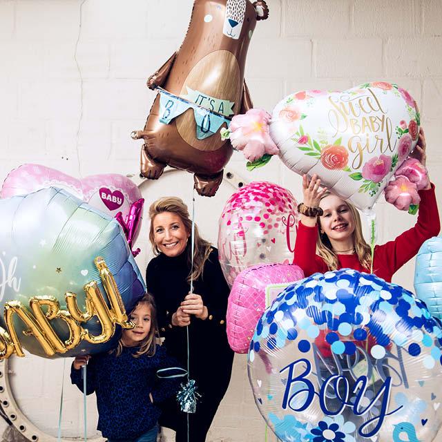 Multisider Ballonnen Geboorte