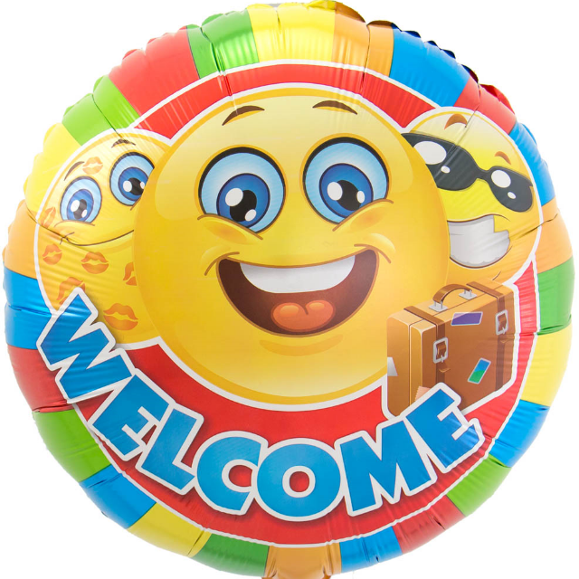 18inch emoticon welcome home 640